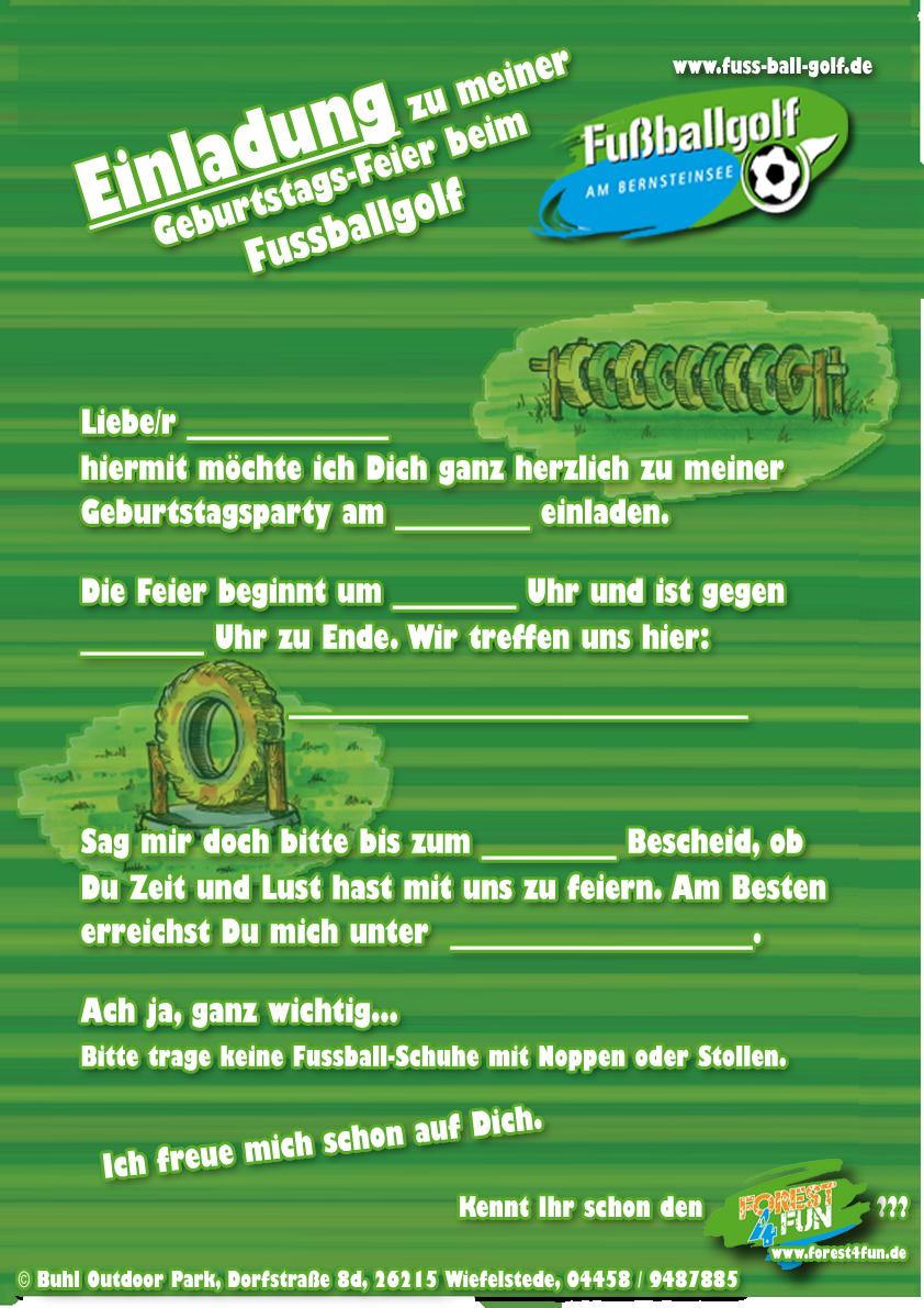 einladung kindergeburtstag fusball kostenlos – kathyprice, Einladungsentwurf